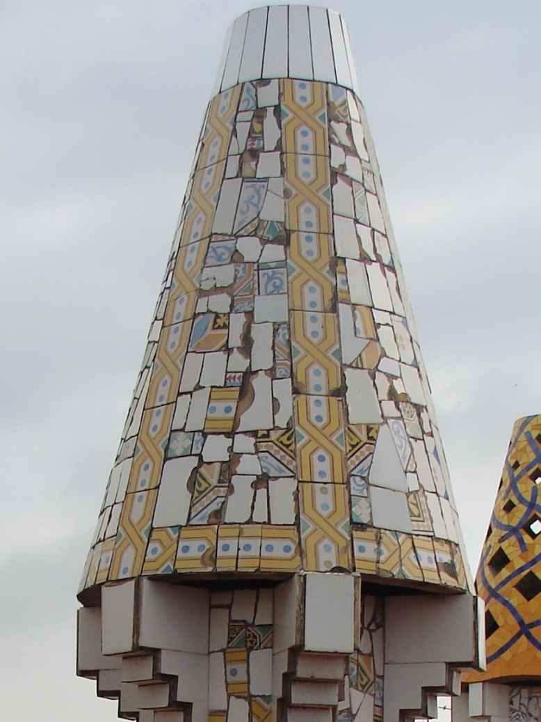 Palau Guell - Chimney Detail 7
