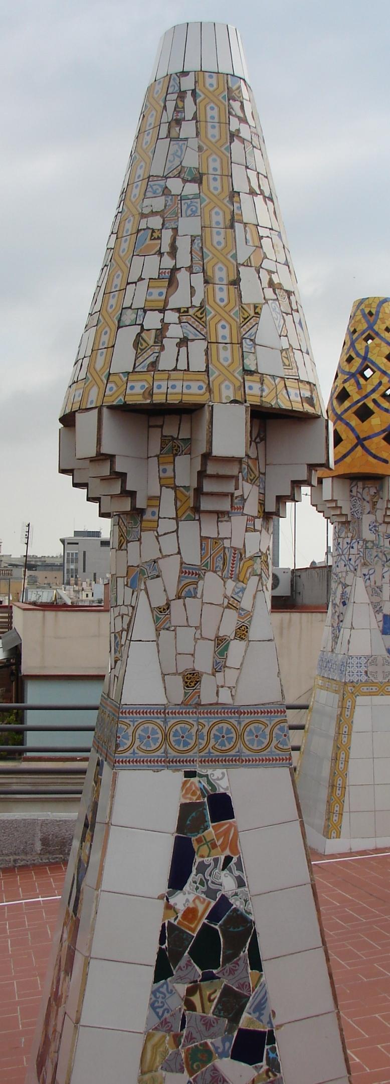 Palau Guell - Chimney [Tall] 4