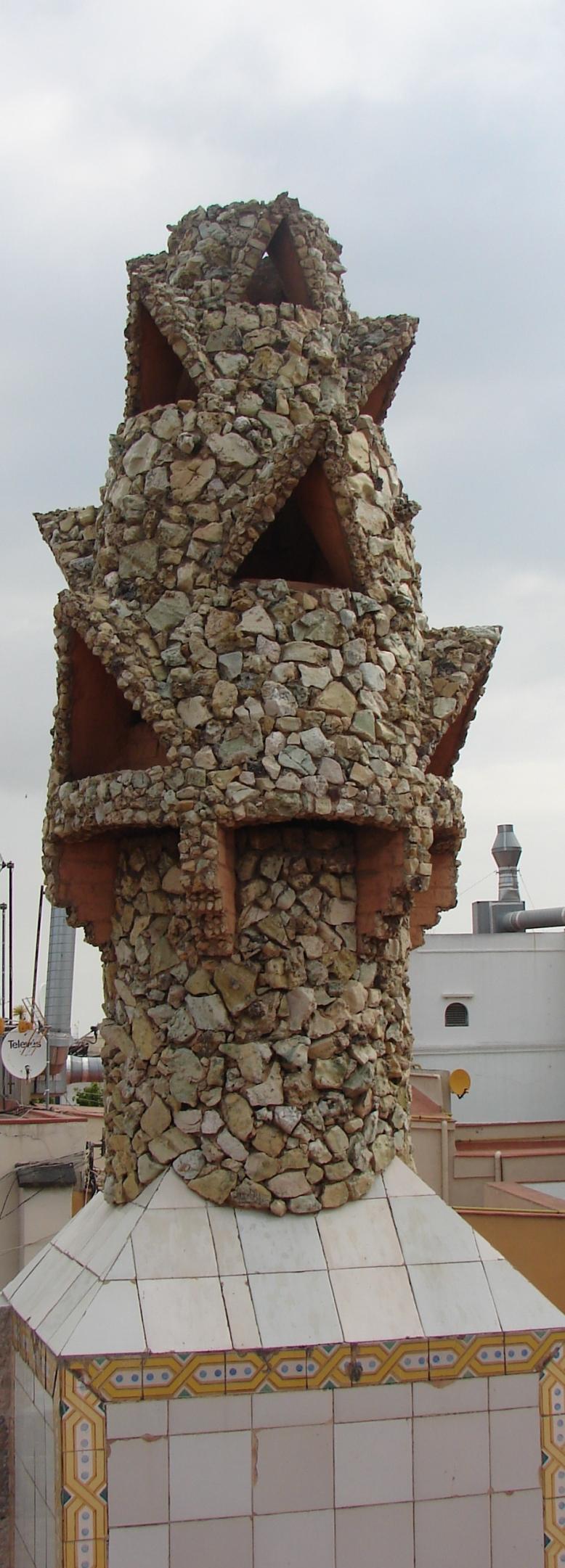 Palau Guell - Chimney [Tall] 7