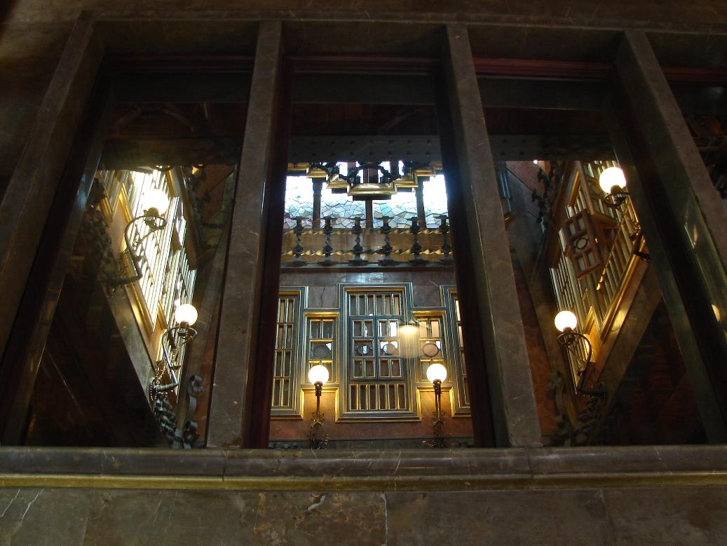 Palau Guell - Atrium Detail