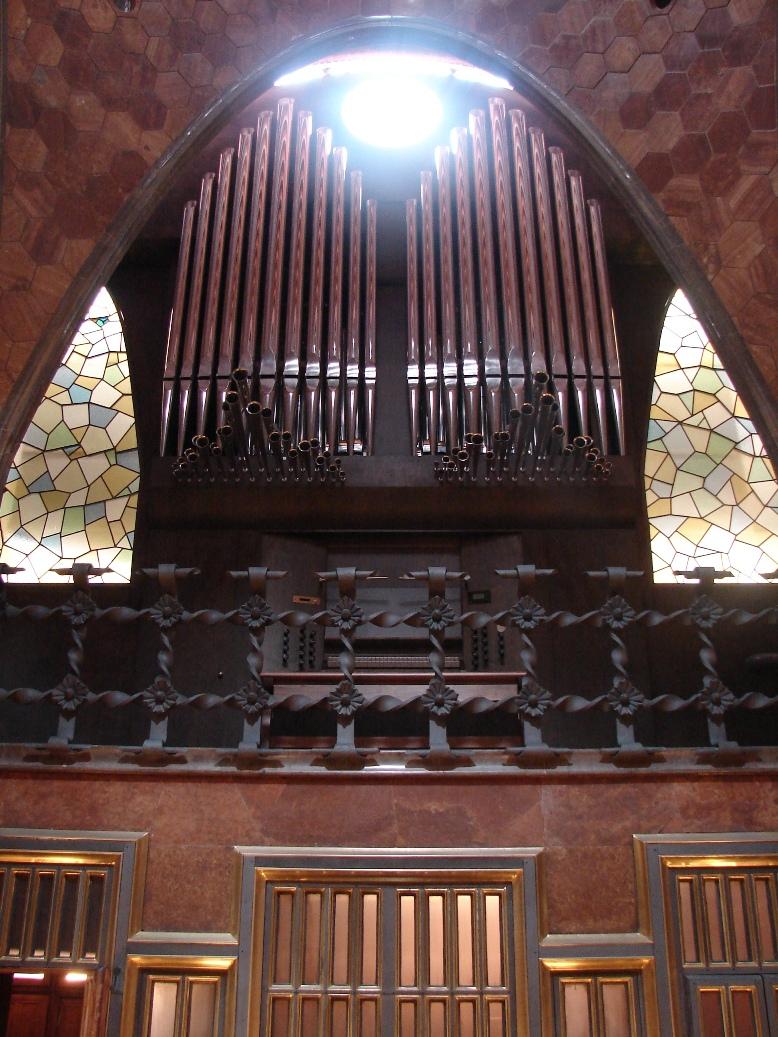 Palau Guell - Atrium Organ