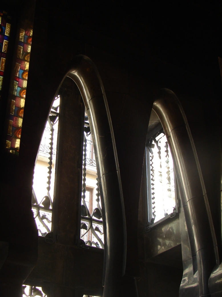 Palau Guell - Arches & Reflections