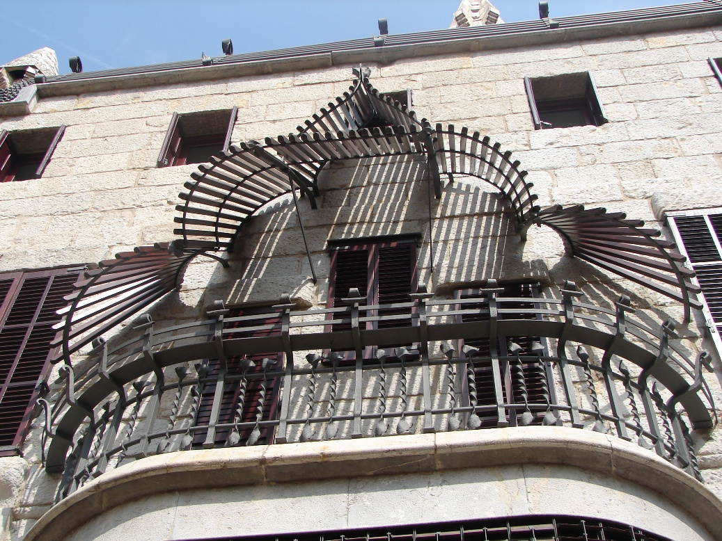 Palau Guell - Exterior Iron Work