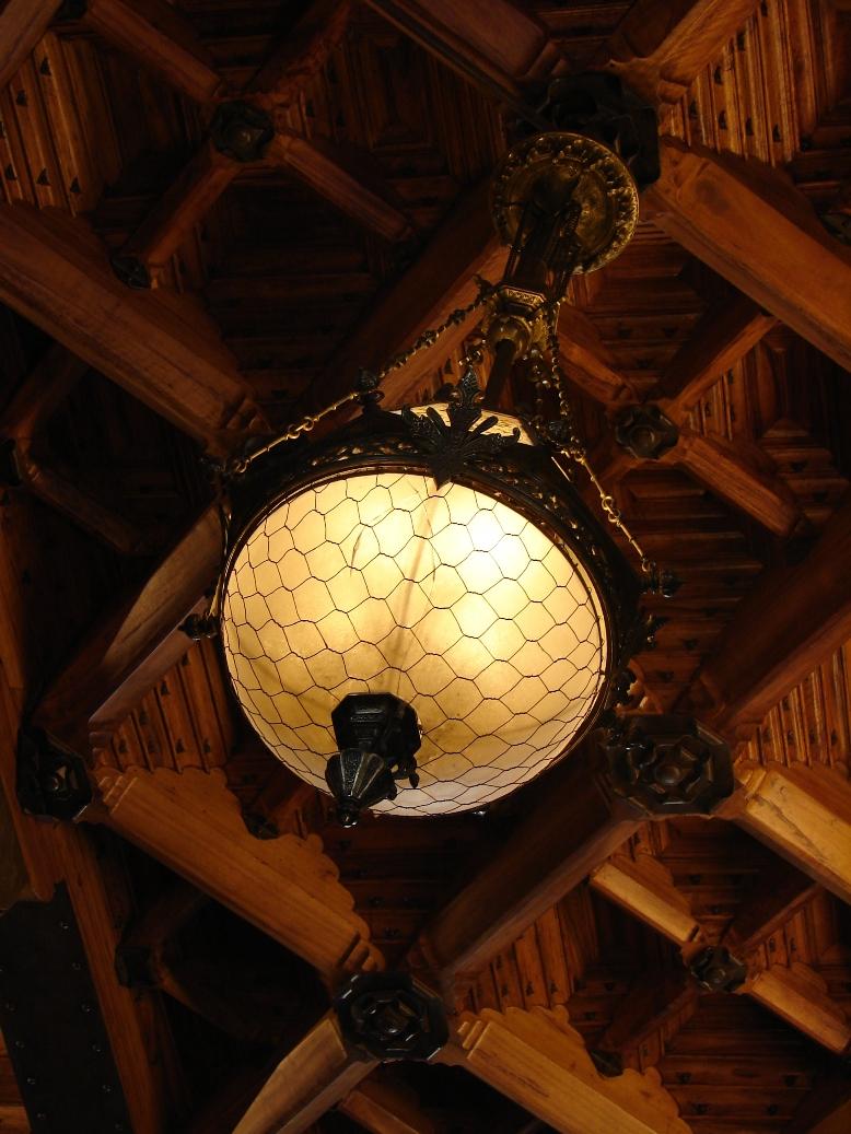 Palau Guell - Lighting 2