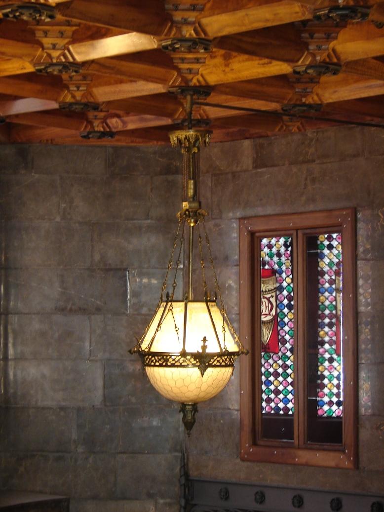 Palau Guell - Lighting 3