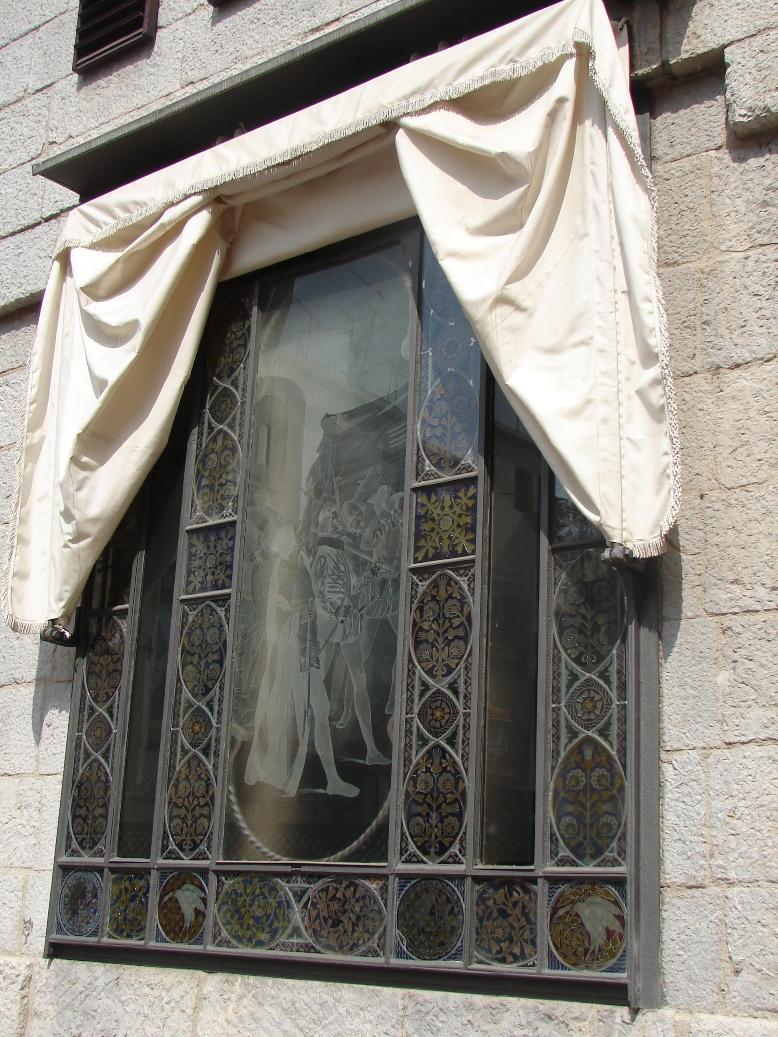 Palau Guell - Knight's Window 3