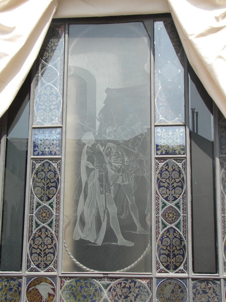 Palau Guell - Knight's Window 4