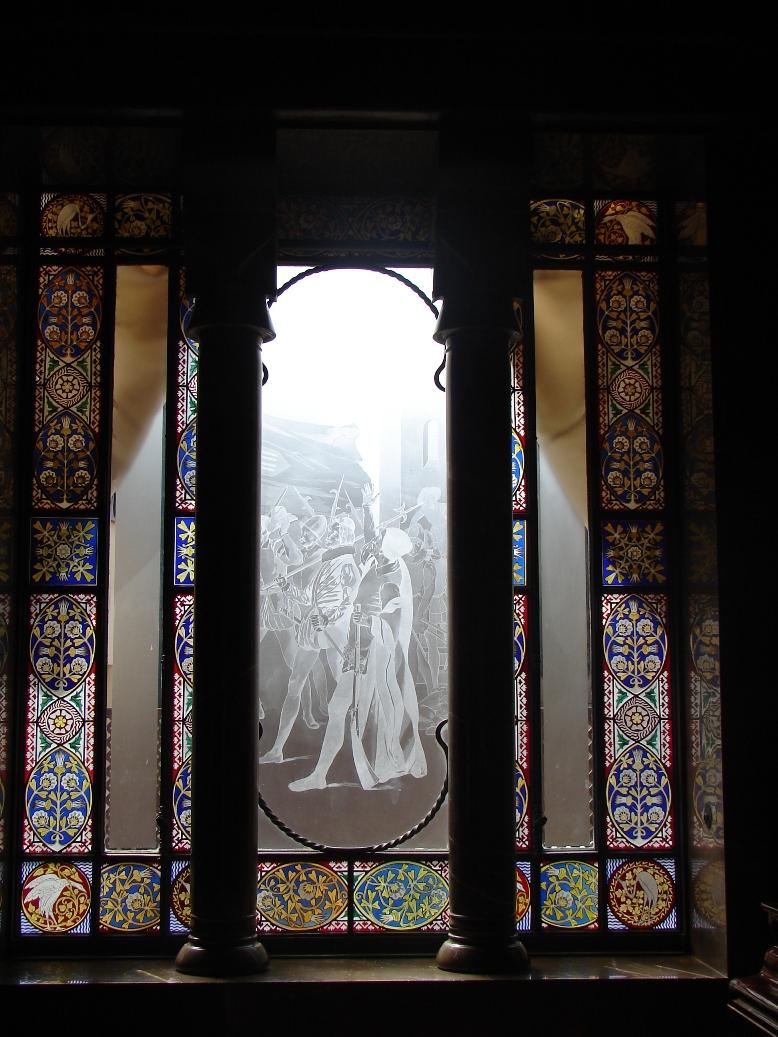 Palau Guell - Knight's Window 1