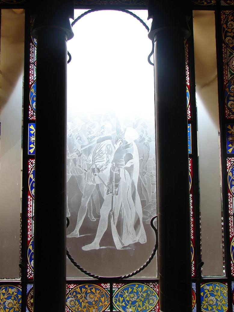 Palau Guell - Knight's Window 2