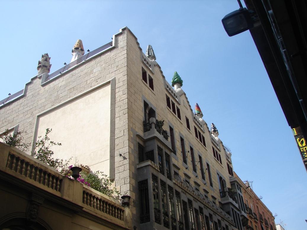 Palau Guell Alt 2, Barcelona, Spain
