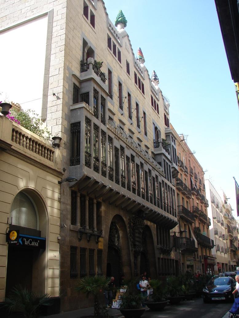 Palau Guell Alt 3, Barcelona, Spain