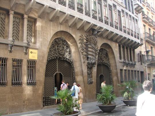Palau Güell, Barcelona, Spain