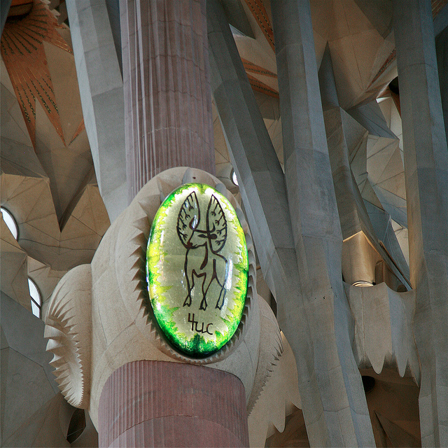 Sagrada Familia, Barcelona, Spain - Detail 9