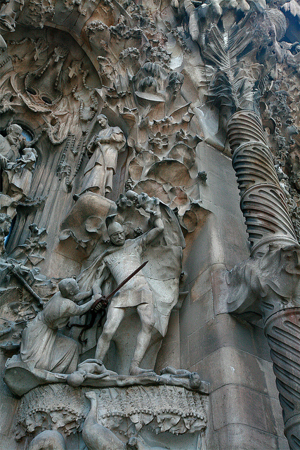 Sagrada Familia, Barcelona, Spain - Detail 7