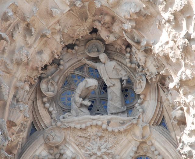 Sagrada Familia, Barcelona, Spain - Detail 12