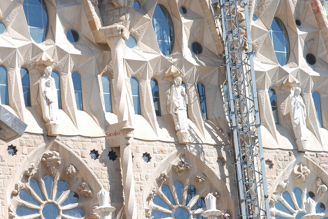 Sagrada Familia, Barcelona, Spain - Detail 10