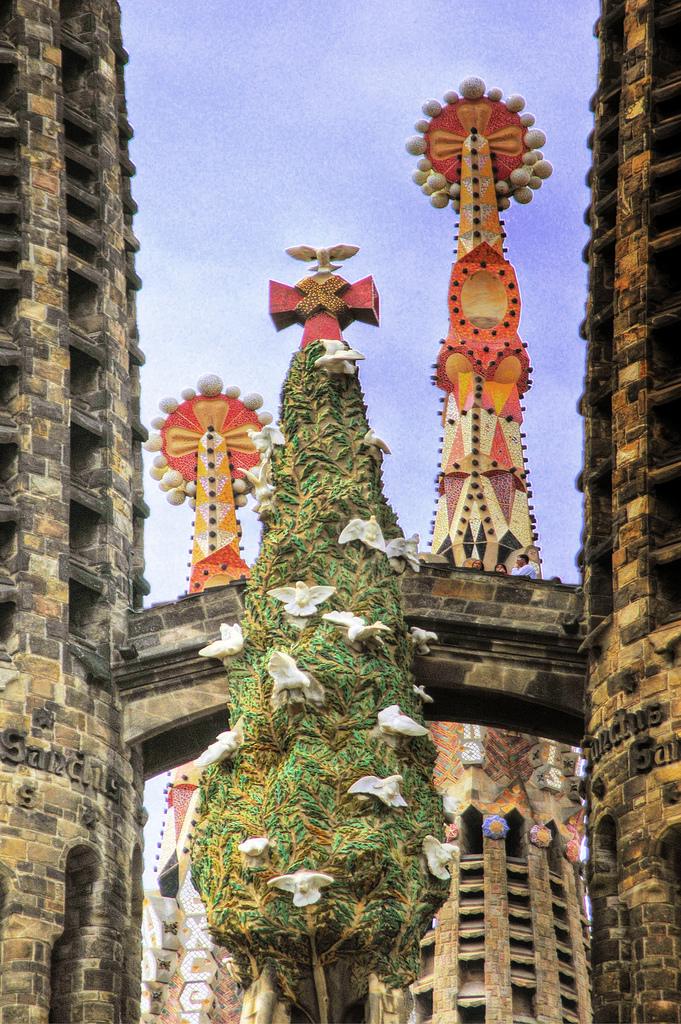 Sagrada Familia, Barcelona, Spain - Detail 4