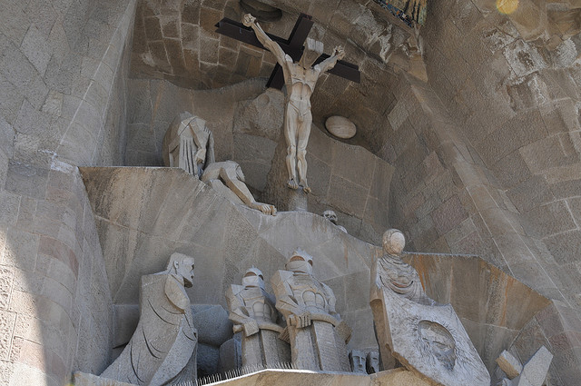 Sagrada Familia, Barcelona, Spain - Detail 6