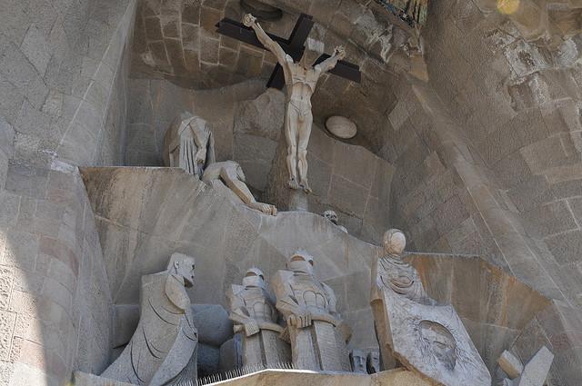 Sagrada Familia, Barcelona, Spain - Detail 6