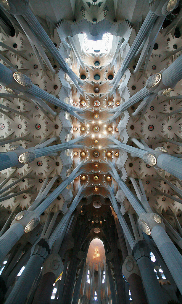 Sagrada Familia, Barcelona, Spain - Interior 1