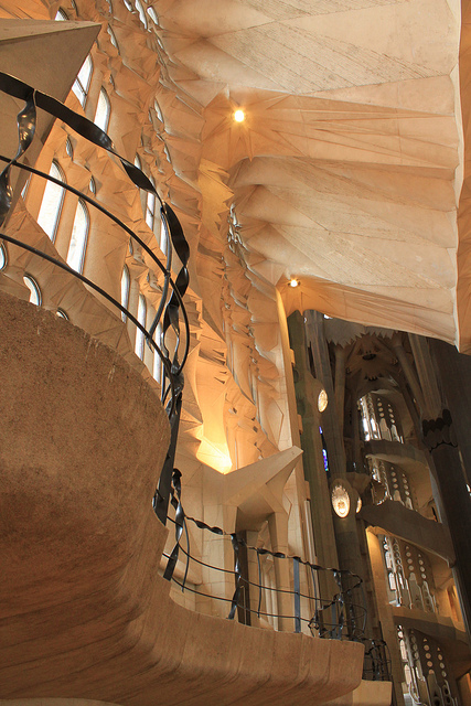 Sagrada Familia, Barcelona, Spain - Interior 8