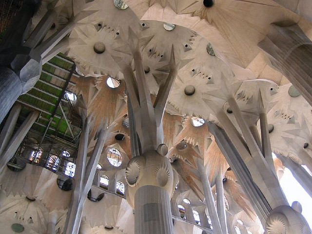Sagrada Familia, Barcelona, Spain - Interior 13