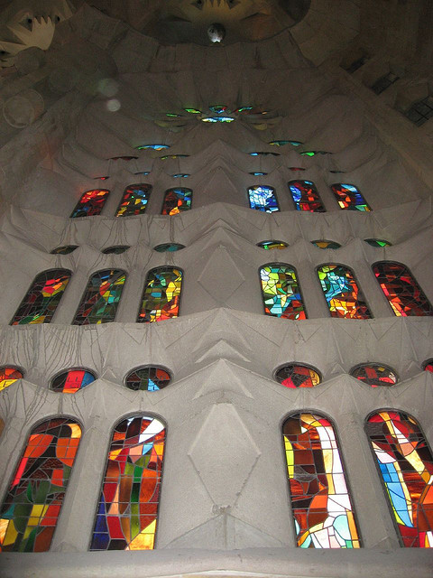 Sagrada Familia, Barcelona, Spain - Interior 11