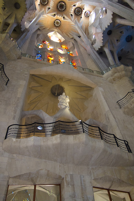 Sagrada Familia, Barcelona, Spain - Interior 7