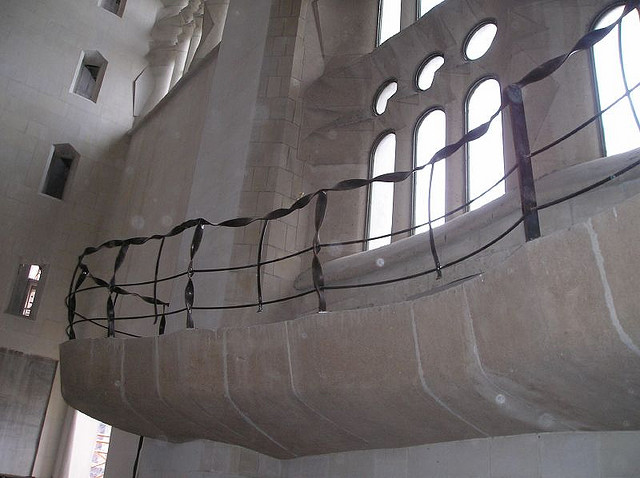 Sagrada Familia, Barcelona, Spain - Interior 12