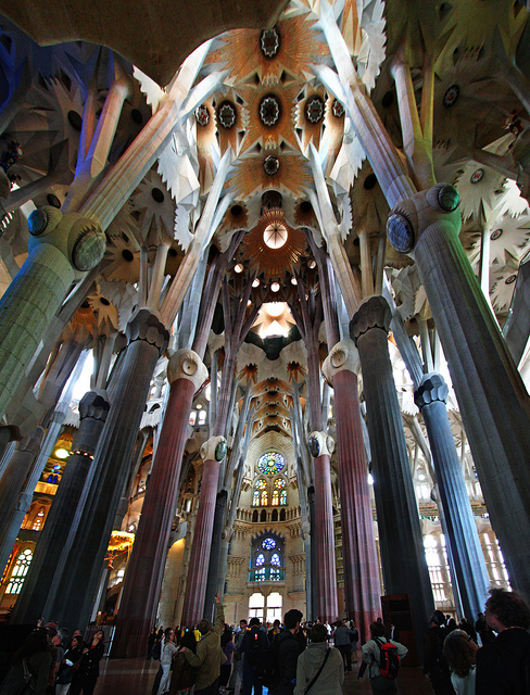 Sagrada Familia, Barcelona, Spain - Interior 10