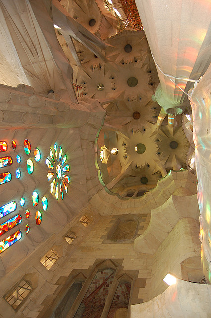 Sagrada Familia, Barcelona, Spain - Interior 5