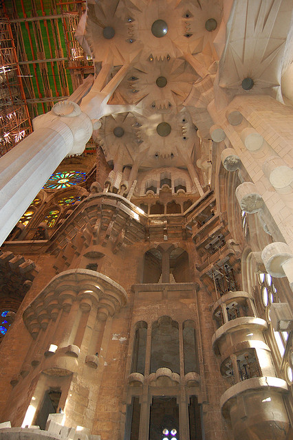 Sagrada Familia, Barcelona, Spain - Interior 6