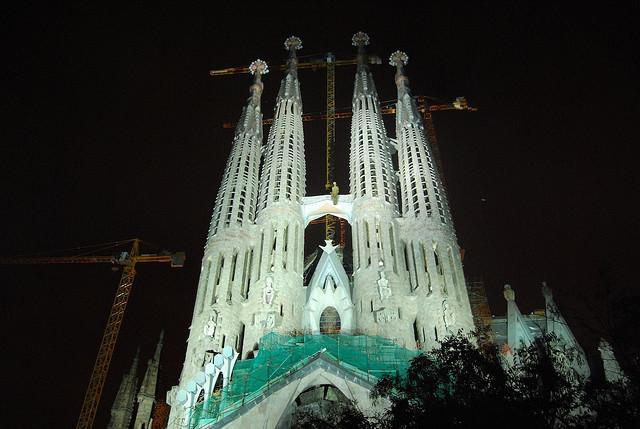 Sagrada Familia, Barcelona, Spain - Night 2