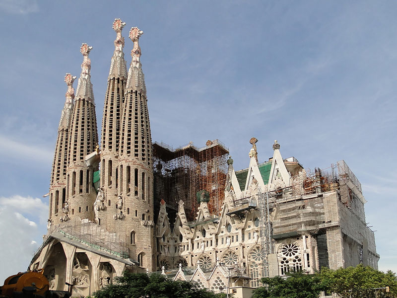 Sagrada Familia, Barcelona, Spain - Alt 2