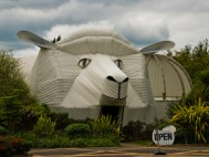 The Sheep Building, Tirau, New Zealand