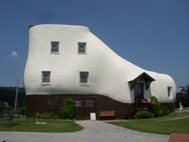 The Shoe House, Hallam, PA, USA