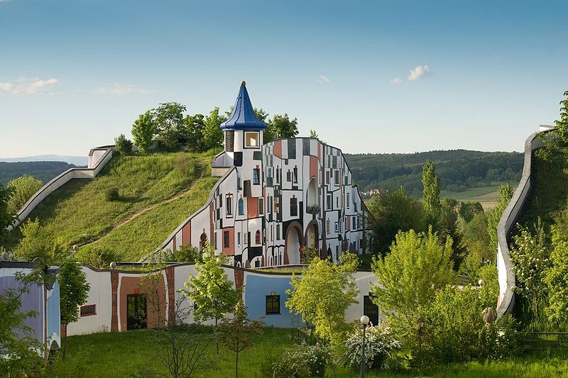In The Spotlight Architect Friedensreich Hundertwasser