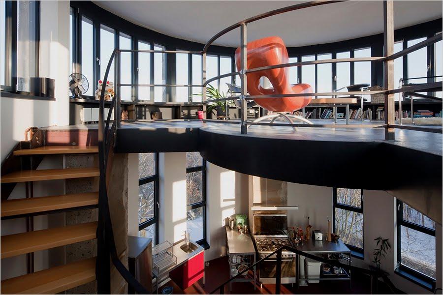 Biorama aka The Water Tower House, Joachimsthal, Germany - Interior 1