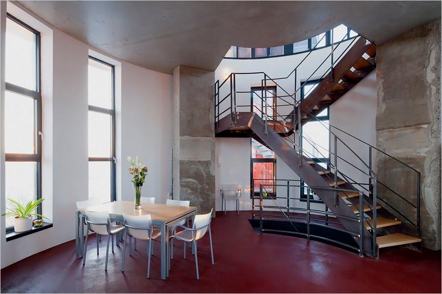Biorama aka The Water Tower House, Joachimsthal, Germany - Interior 2