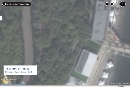 Futuro - Yalta, Crimea, Ukraine - Possible Location Bing Maps - Imagery Date Unknown