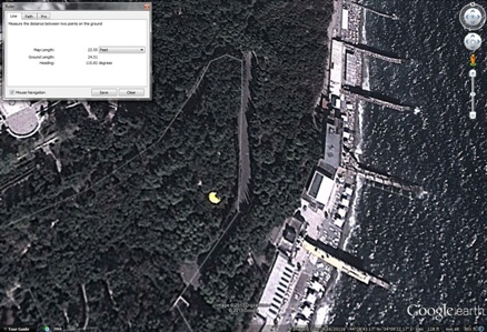 Futuro - Yalta, Crimea, Ukraine - Possible Location Google Earth - Imagery 091611