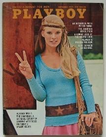 Playboy Magazine September 1970 - Cover