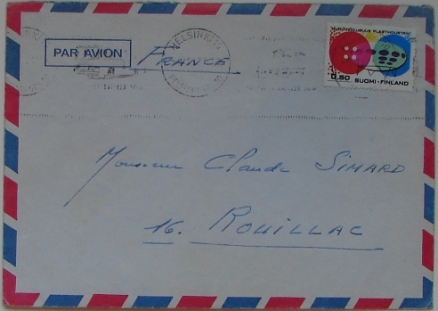 Futuro Stamp - Airmail Envelope