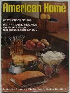 American Home Magazine September 1969 Cover