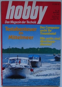 Hobby: Das Magazin der Technik | 092971 | Cover