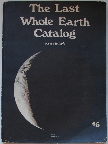 The Last Whole Earth Catalog Cover
