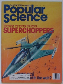 Popular Science 1984 Cover