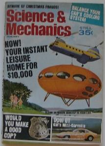 Science & Mechanics January 1970 Cover