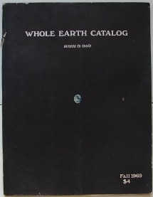 Whole Earth Catalog Fall 1969 Cover