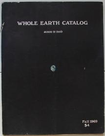 Whole Earth Catalog Fall 1969 Cover